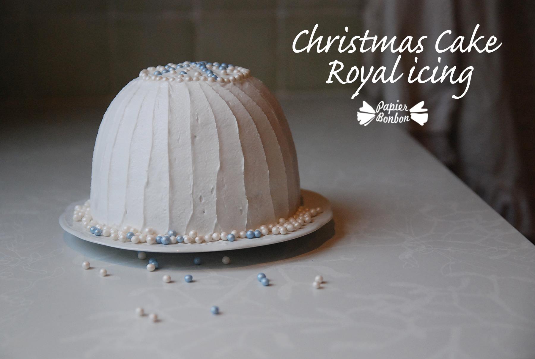 Christmas Cake #3 - Royal Icing - Papier Bonbon