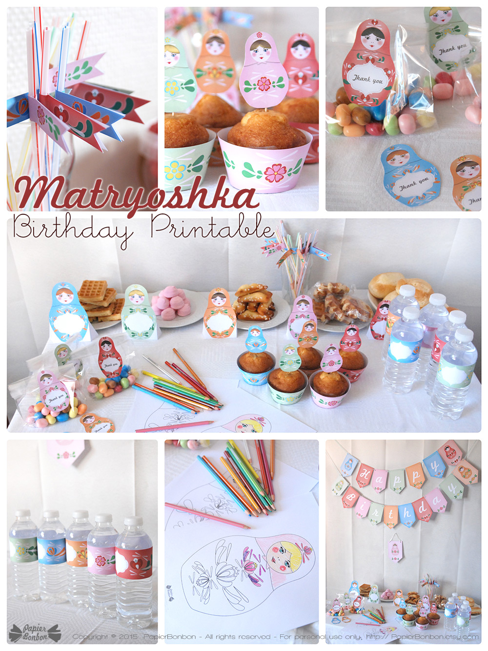 decoration anniversaire kit