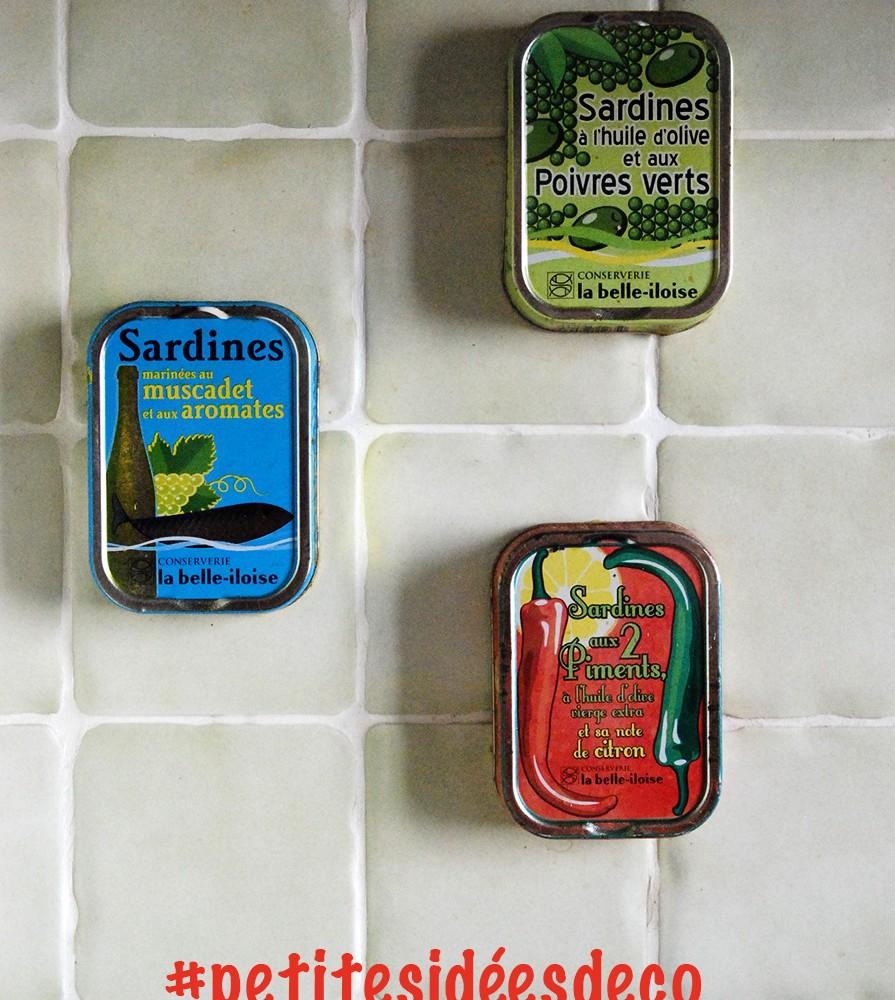 Comment Décorer Des Boites De Conserve détournement d'objet : boîtes de conserve bretonnes - papier
