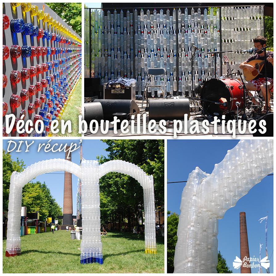 Diy Fleurs En Bouteille Plastique Les Invites De