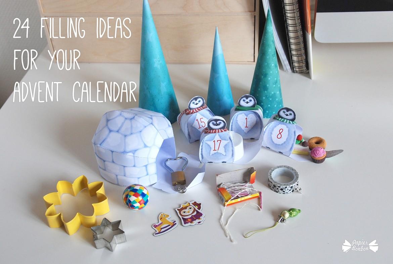 Advent Calendar Refill Ideas : News filling ideas for advent calendar part
