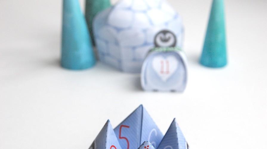 Printable: paper fortune teller