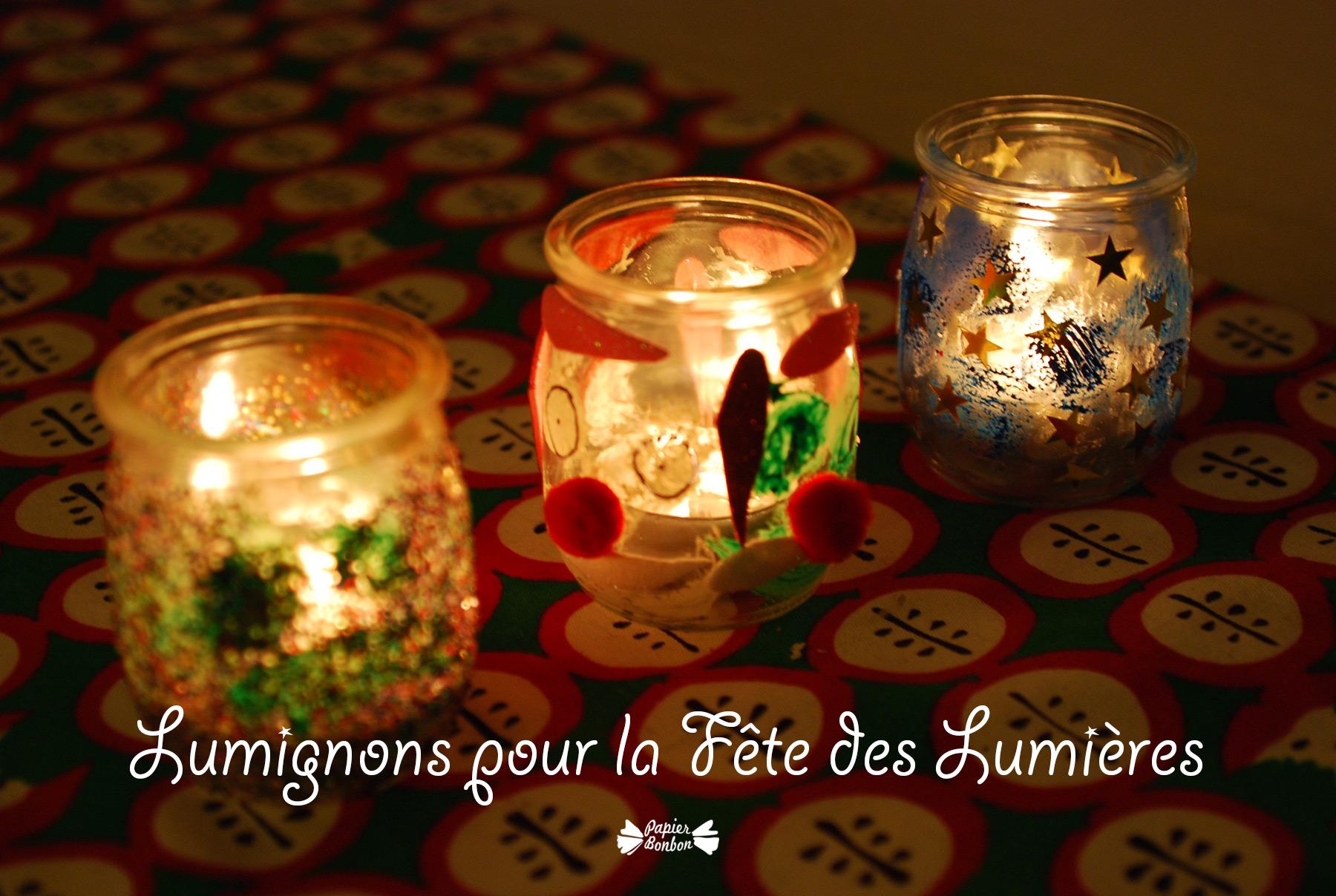 Decoration Lumignon  Decembre Enfants