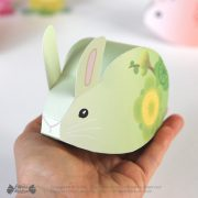 Boite lapin fleur - Blossom bunny gift box