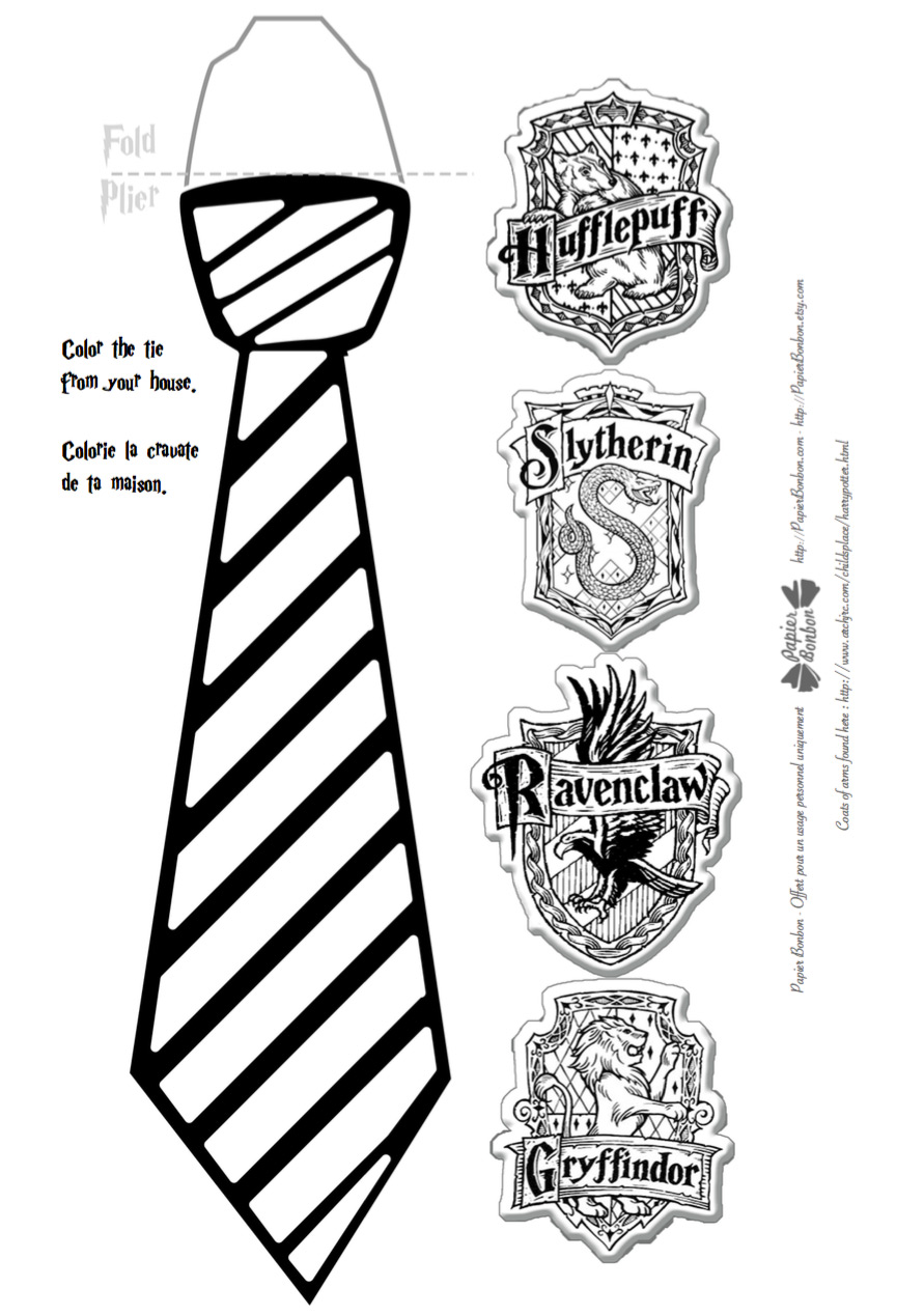Harry Potter Birthday Parties Printables Papier Bonbon