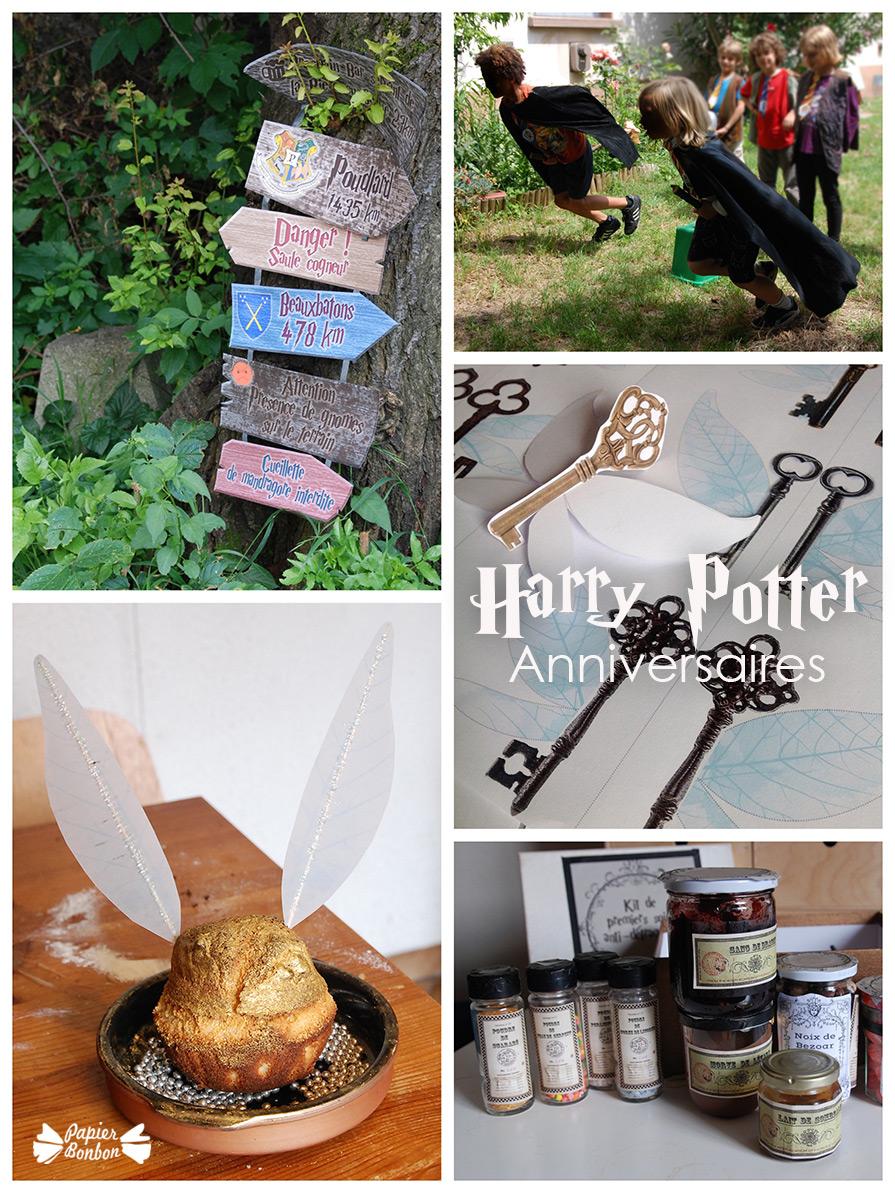 Anniversaire Harry Potter Décorations Imprimables Idées De Jeux