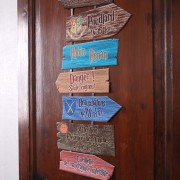 Harry Potter decor signs
