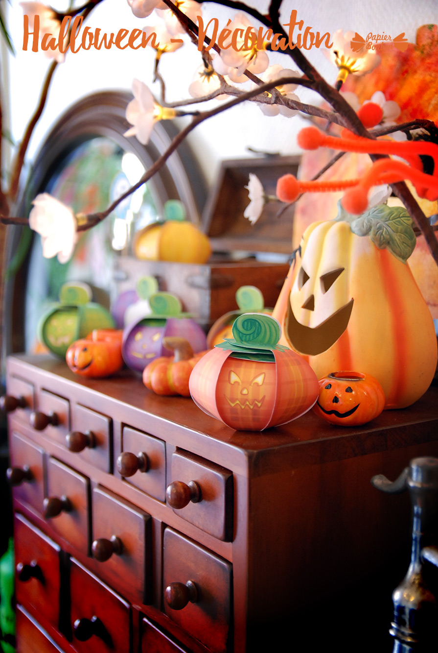 Halloween D 233 Coration Papier Bonbon