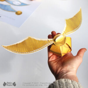Golden Snitch Gift Box - Boîte Cadeau Vif Or Harry Potter
