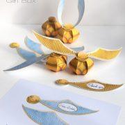 Golden Snitch Gift Box - Boîte Cadeau Vif Or Harry Potter