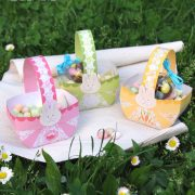 Paniers papier de Pâques - Easter paper basket