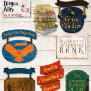 Enseignes décoratives Harry Potter Chemin de traverse