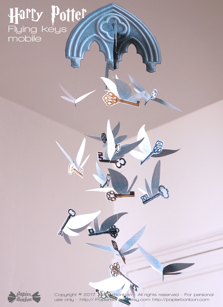Mobile clés volantes Harry Potter Flying keys mobile