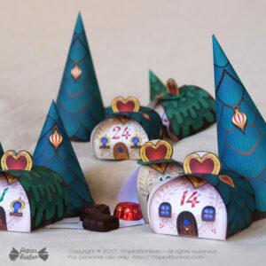 Calendrier de l'Avent Village / Village Advent Calendar