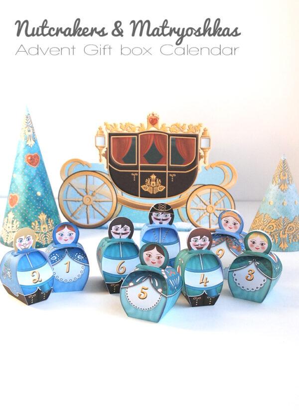 Matryoshka Advent Calendar - Calendrier Poupées russes