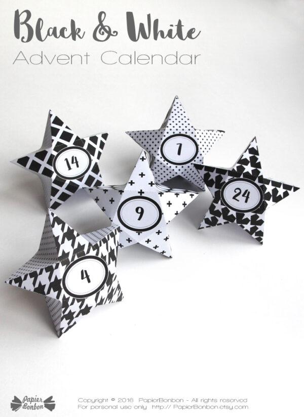 Geometric-Star-advent-calendar
