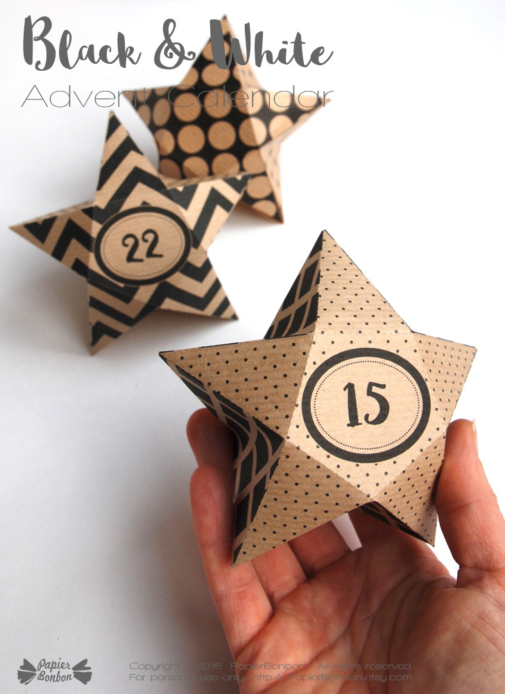 Geometric-Star-advent-calendar