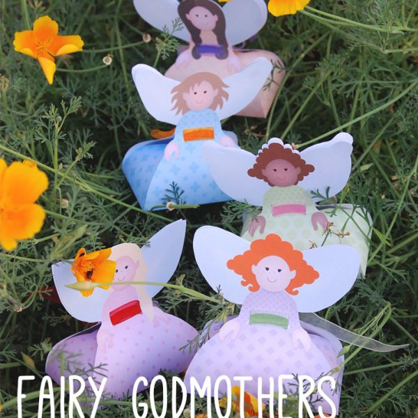 Boîtes cadeaux fées - Fairies Favor Box