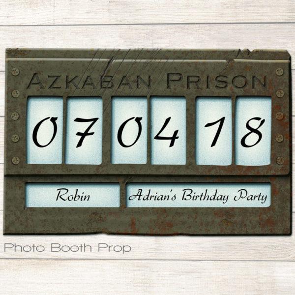 editable Azkaban sign printable