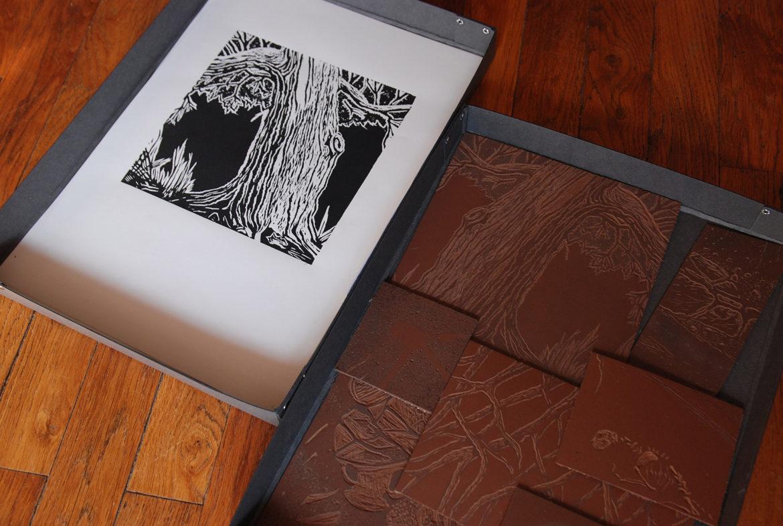 Atelier de Linogravure URDLA