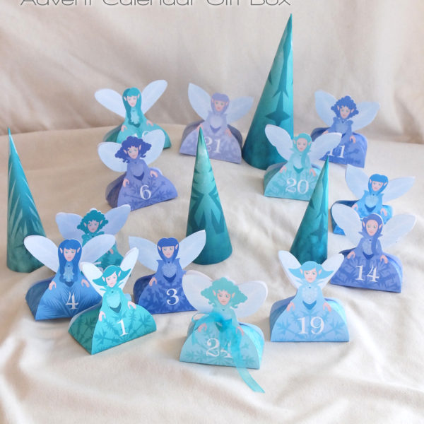 Calendrier de l'Avent fées des neiges | Advent Calendar Snow Fairies