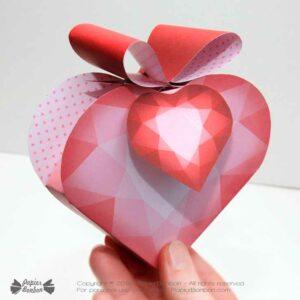 Boîte cœur Saint Valentin | Heart Gift Box