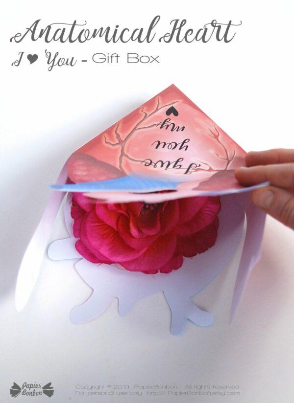 Boîte cœur anatomique Anti-Saint Valentin