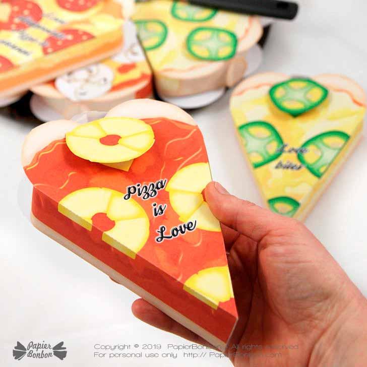 Boîte cadeau Pizza | Pizza Gift Box